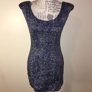 Gypsy Junkies bodycon dress with zipper back